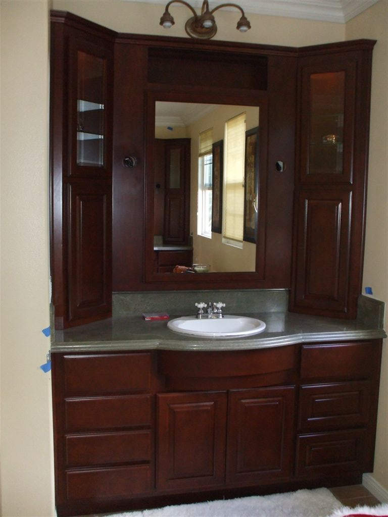 Best Kitchen Gallery: Get A New Bathroom Vanity Woodwork Creations of Bathroom Vanities Cabinets on rachelxblog.com