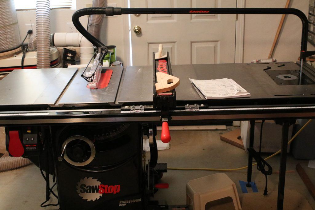 Sawstop Pcs Saw With Bench Dog Pro Max Router Table