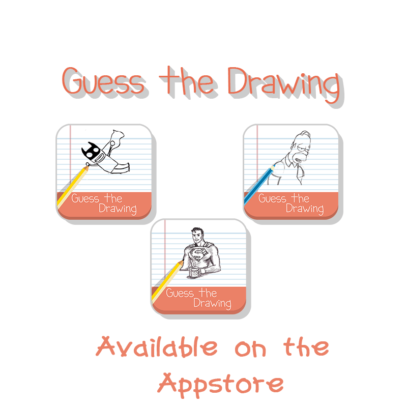 Guess the Drawing on iOS! a new quiz and trivia app! Try ...