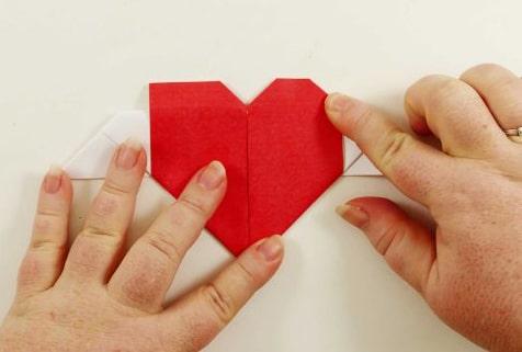 сердце из бумаги своими руками фото 019