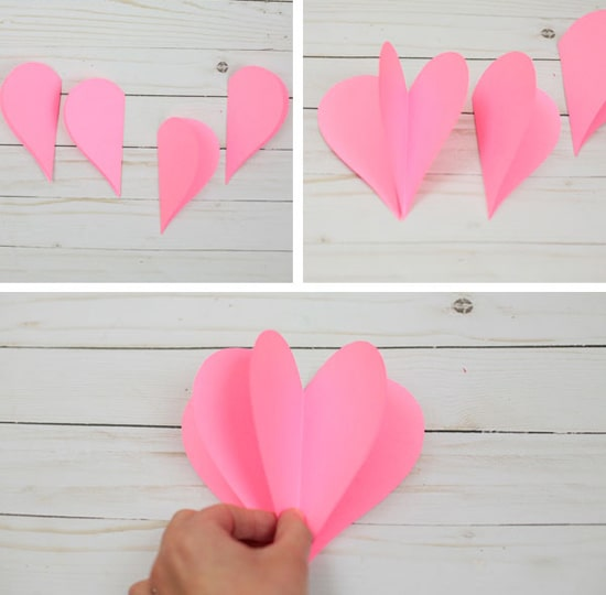 сердце из бумаги своими руками фото 053