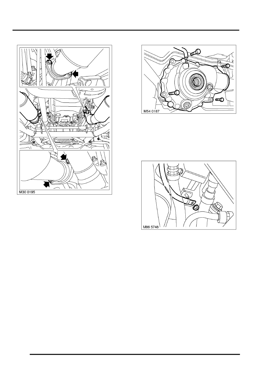 Engine v8 > repairs > engine ancillaries remove for access refit > page 226