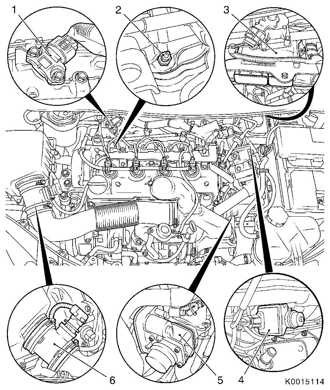 Vauxhall corsa d engine diagram