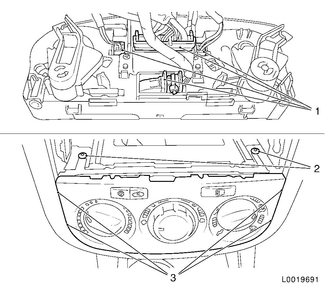 Vauxhall workshop manuals > corsa d > c body equipment > seats corsa d 676 replace instrument panel padding plete corsa d heater wiring diagram