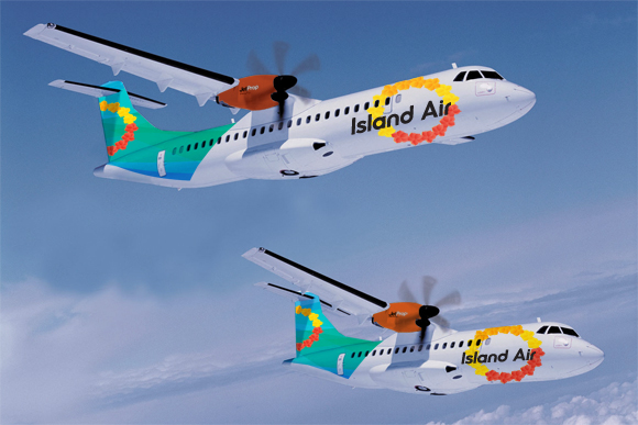 Island Air launches a new livery and will add ATRs in ...