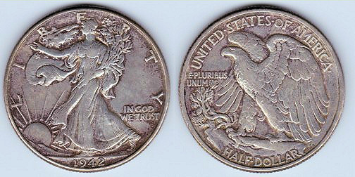 1971 Silver Kennedy Dollar Half 40
