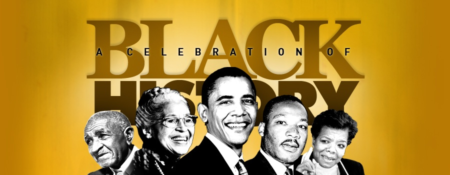 History African And American 2014 Month Art Clip