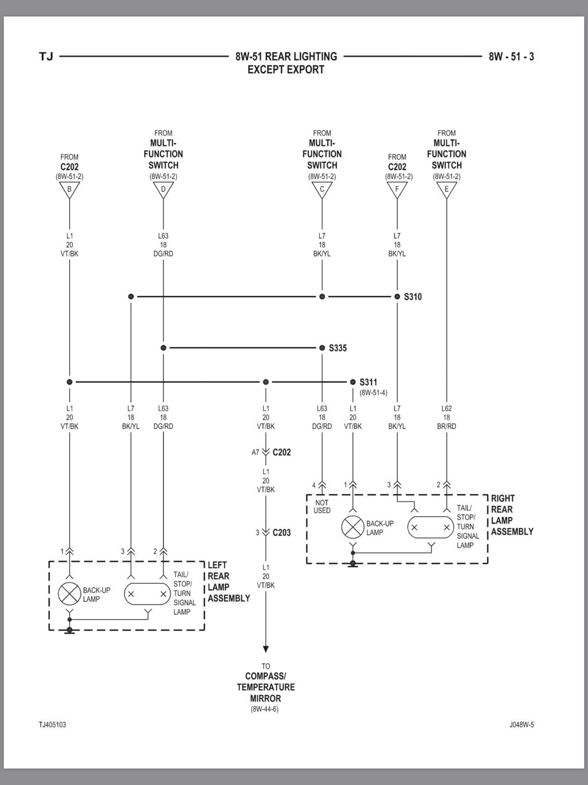2004 Jeep Grand Cherokee Electrical Diagram