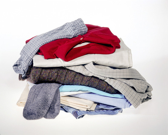 Messy pile of men's clothes - WRAP Resource Library