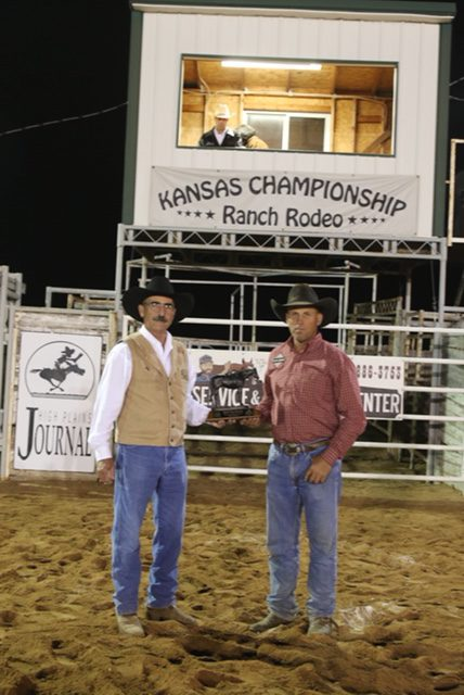 2018 Kansas Championship Ranch Rodeo Results Working