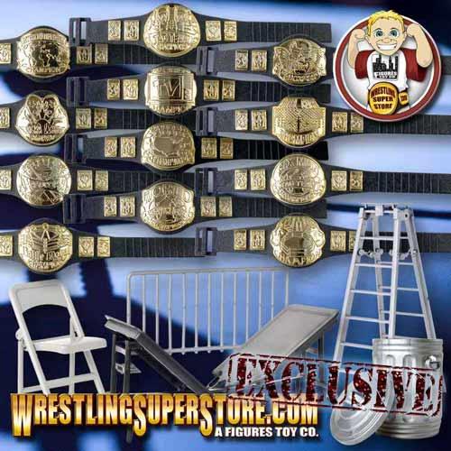 Wrestling Action Figures Accessories