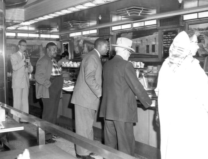 Lunch Counter At Woolworths Department Store San Antonio