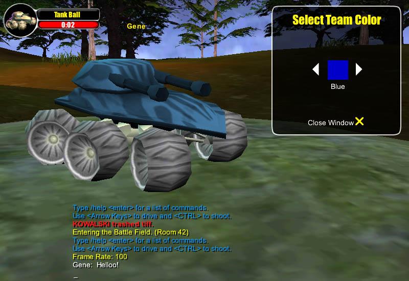 Maidmarian Com Launches Multiplayer Tank Ball Game