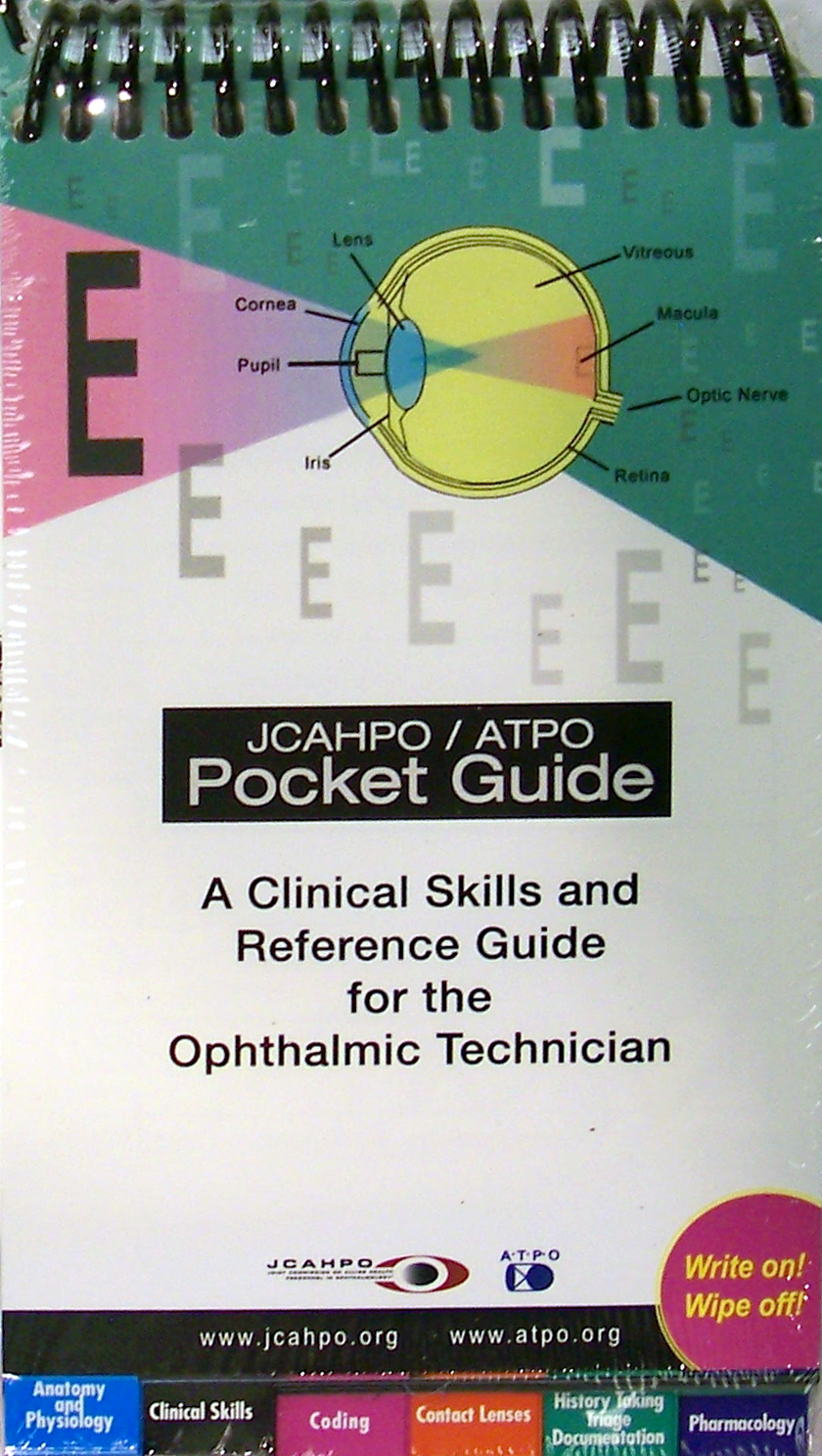 Jcahpo Atpo Pocket Guide Launches For Eye Care Professionals