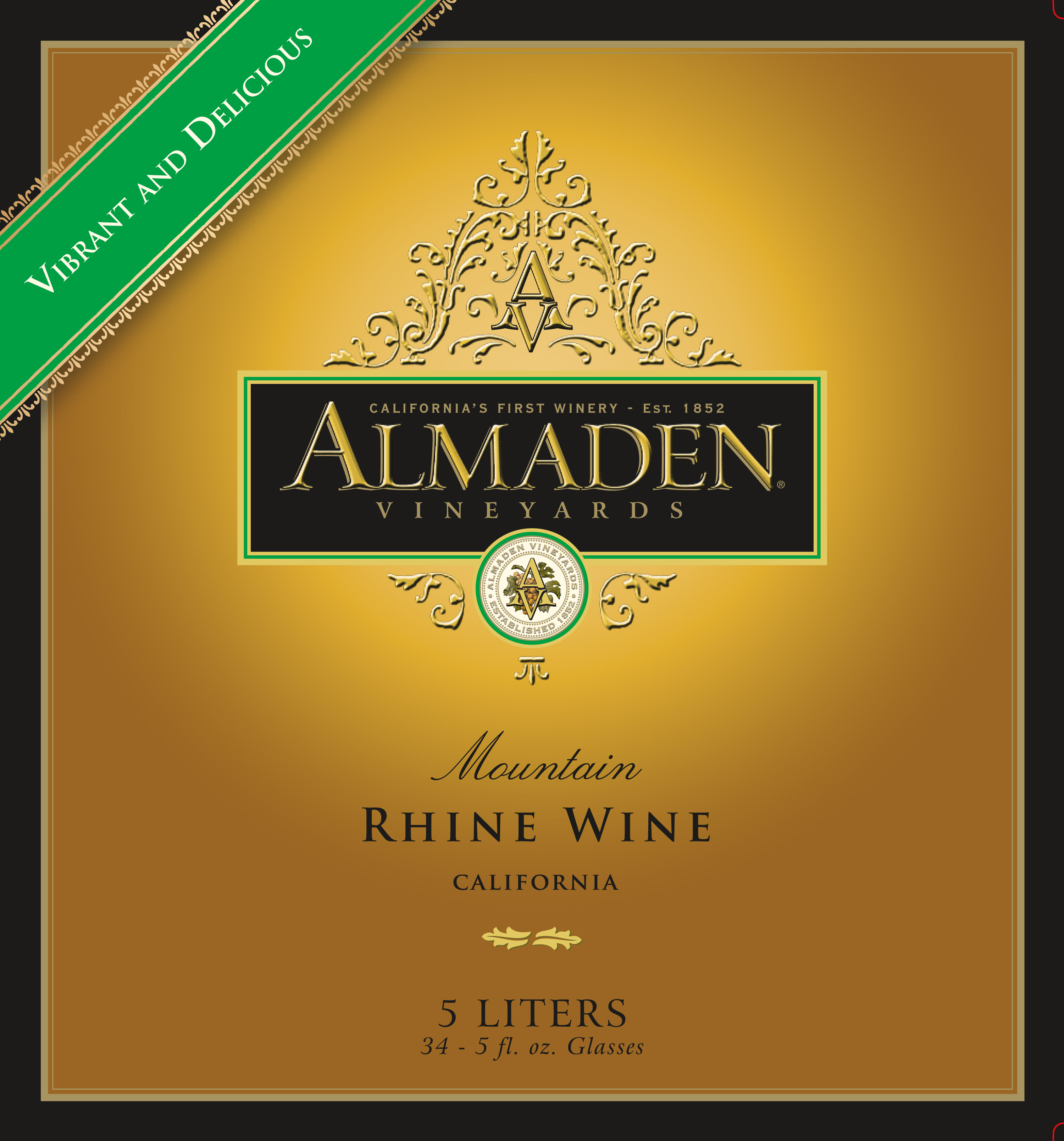 Almaden Mountain Rhine Earns Platinum At Consumer Wine