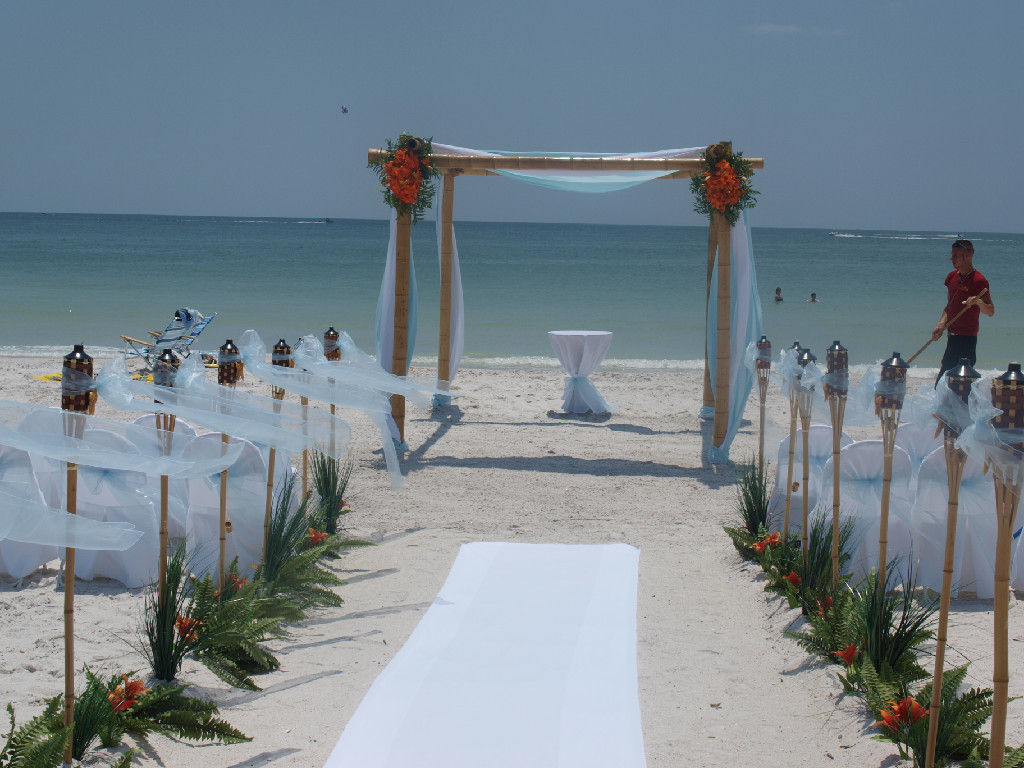 How Much Beach Wedding