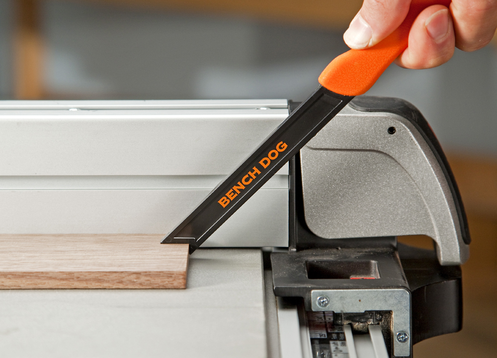 Rockler S New Pocket Push Stick Combines Safety And