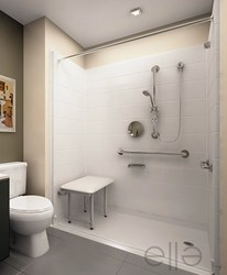 Aging Safely Announces Wheelchair Accessible Handicap Showers     Handicap shower stall