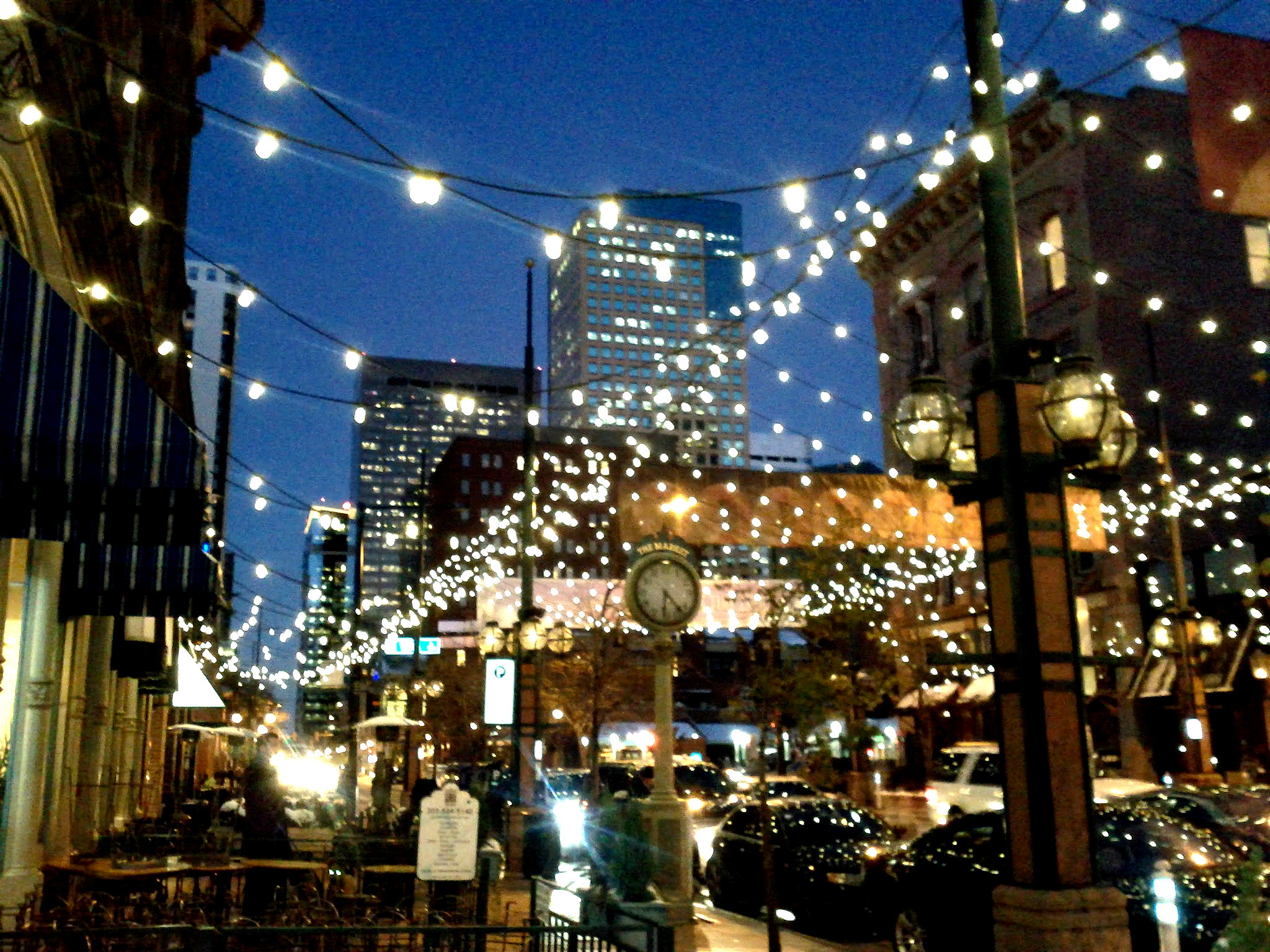Forethought Net Lights Up Larimer Square In Downtown