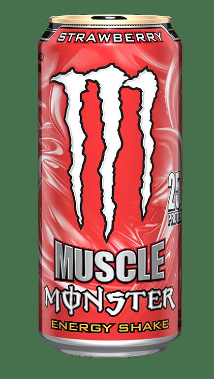 Monster Engery Drinks Milkshake