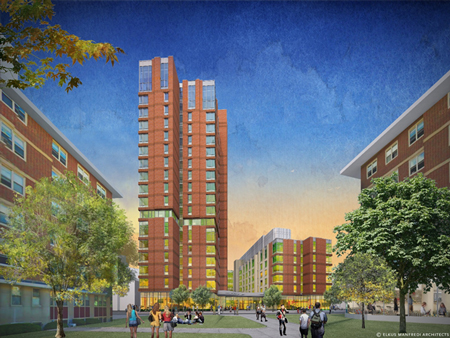 Emmanuel College To Build New Residence Hall In Boston