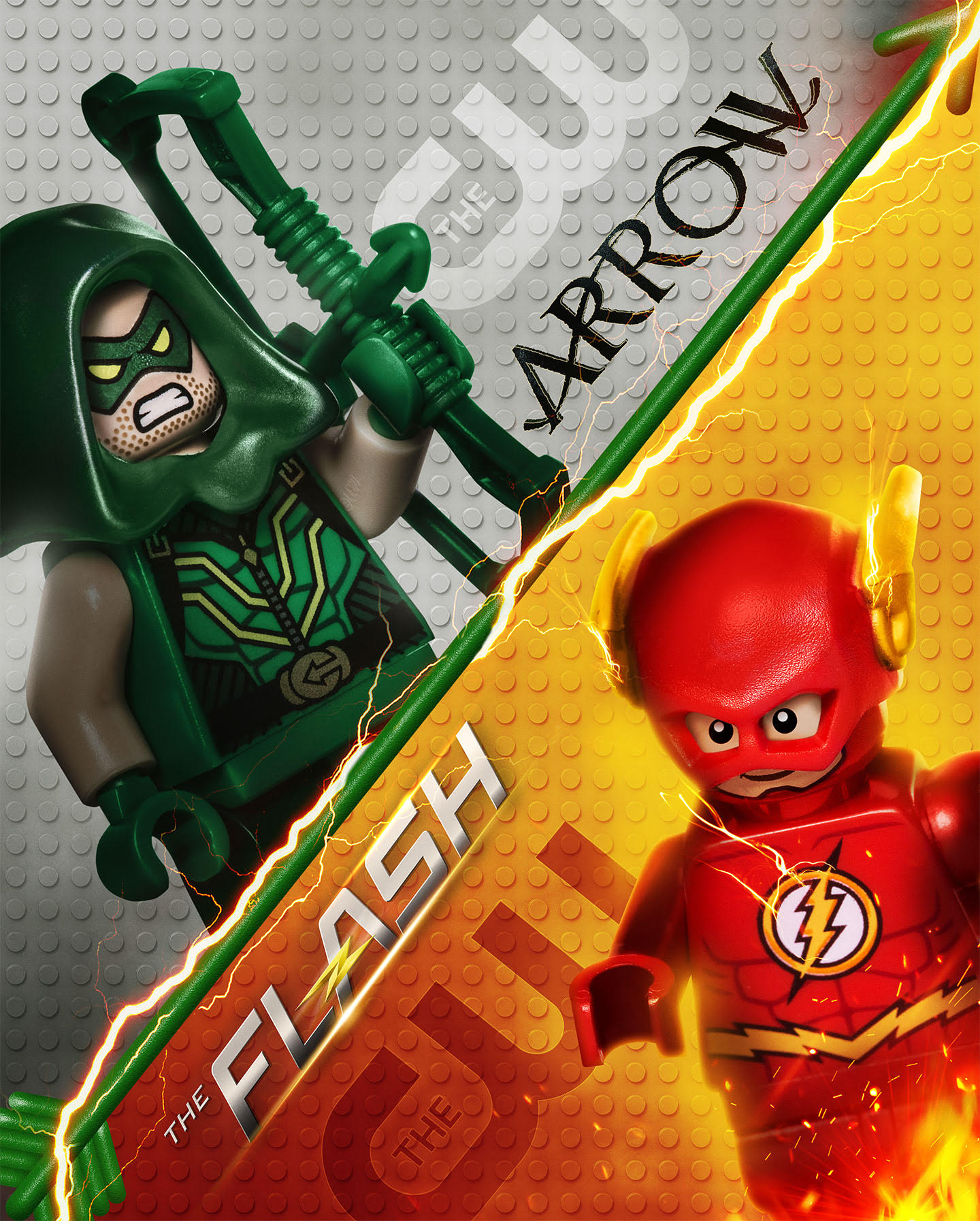 Warner Bros  Television Group Celebrates  The LEGO     Batman Movie     Television Group Celebrates  The LEGO     Batman Movie  With Super Sized  Studio Billboards  and LEGO Batman Crashes The CW s Super Hero Lineup