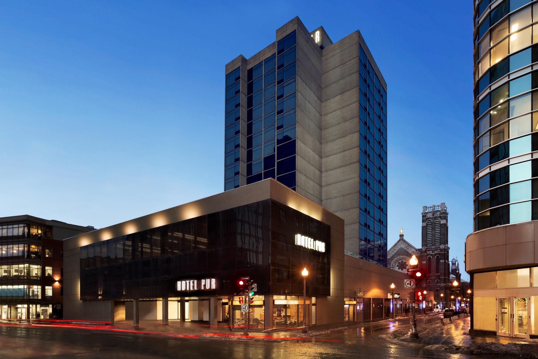 Crescent Hotels Amp Resorts Unveils Hotel Pur Quebec S Multi