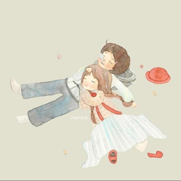 晚安心语190222:什么时候才能睡觉一翻身就能蹭到你怀里呀