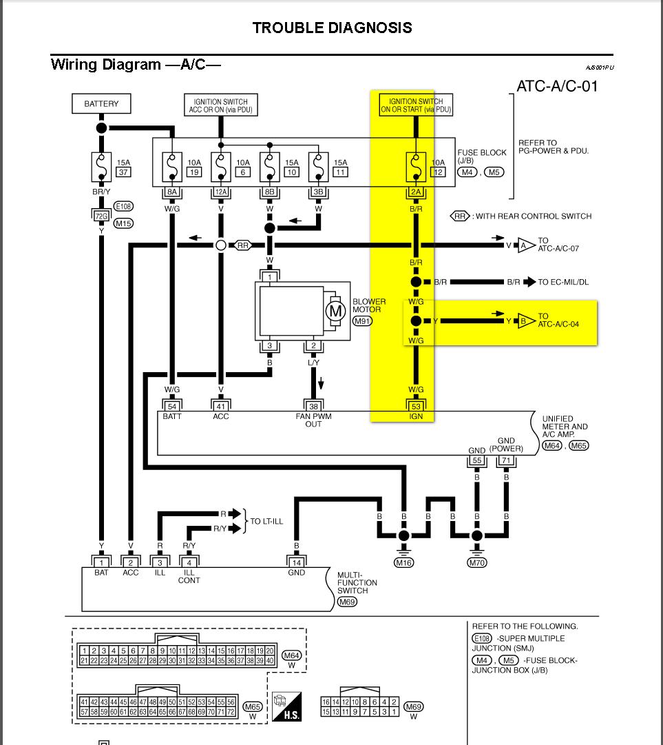 2004 Infiniti G35 Radio Fuses Diagram 2004 QX56 Fuse Diagram 2004 G35 Fuse  Diagram