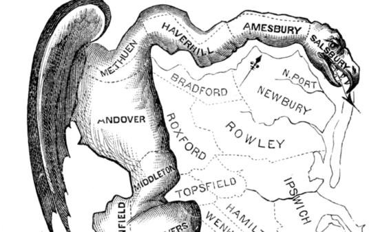 The Strange Geometry of Gerrymandering | The Lowdown ...