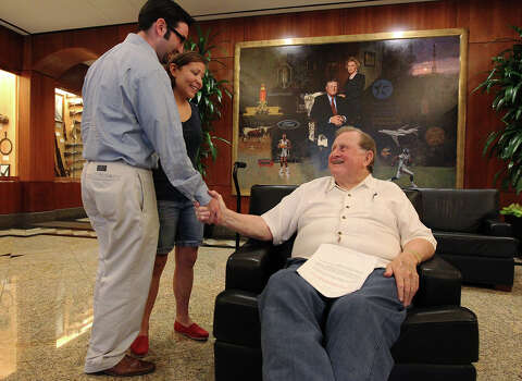 McCombs boosts fund for student in chimp attack - San Antonio Express-News