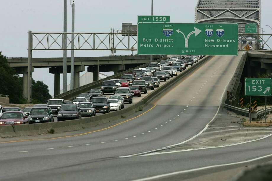 Traffic New Orleans During Katrina