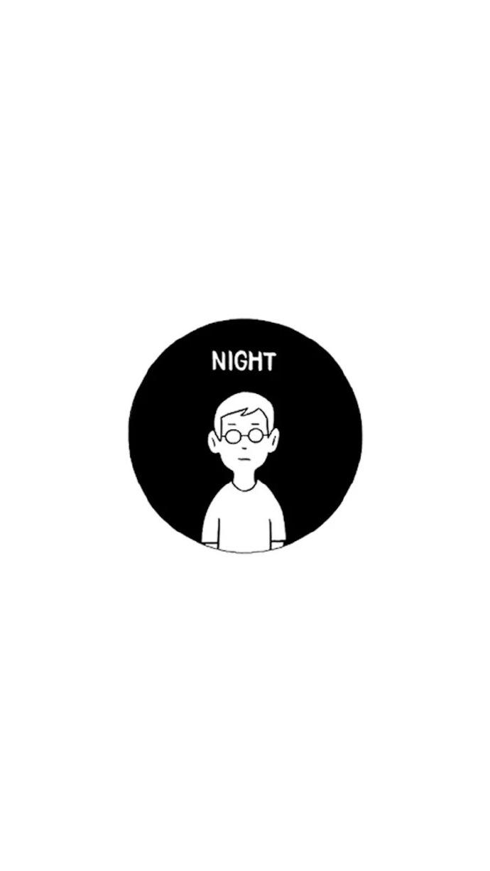 2019晚安心语插画:人间烟火,山河远阔,无一是你,无一不是你