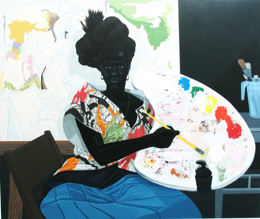 Artist Kerry James Marshall Explores The World Of Art In