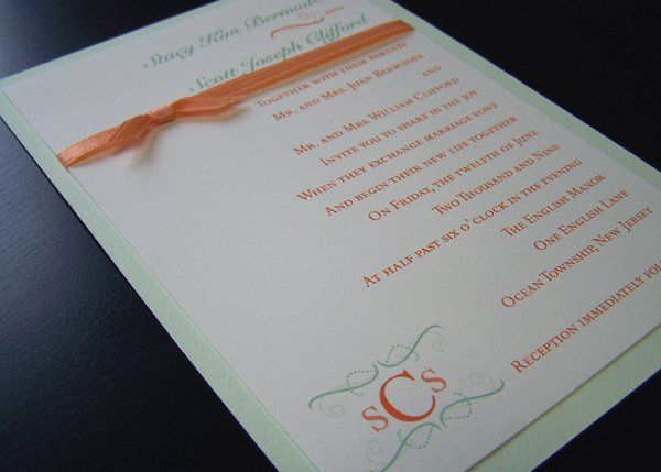 Custom Invitations Kelly Nj