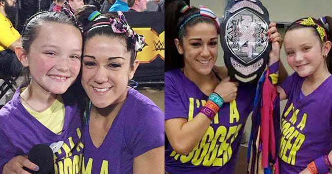 Bayley S Biggest Fan Reacts To Her Heel Turn Taz Working