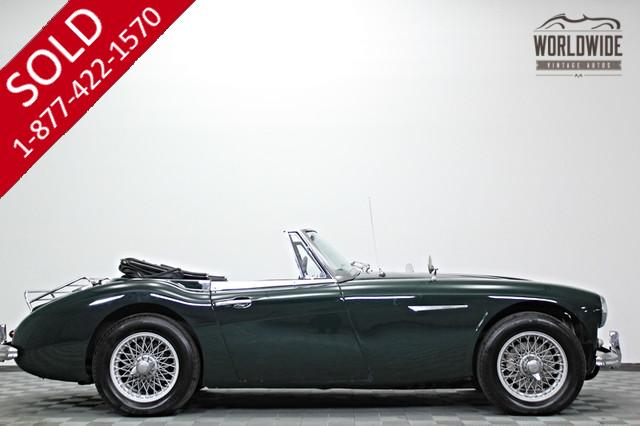 1963 Austin Healey for Sale 1963 Austin Healey 3000 Mark II British Sports Car  6cyl  RARE