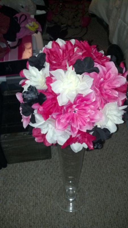 Diy Centerpiece No Styrofoam Ball Pic Heavy Weddingbee Photo Gallery