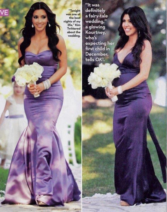 Gowns Kardashian Bridesmaid Khloe