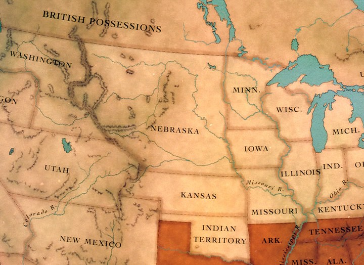 HD Decor Images » Maps   The Civil War   PBS The Confederate States of America