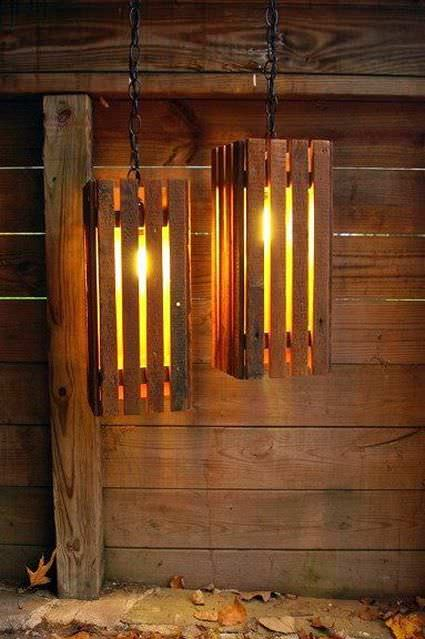 40 Stunning Lamps Made From Reclaimed Pallets 1001 Pallets