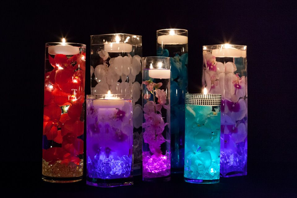 Battery Operated Lights Centerpieces