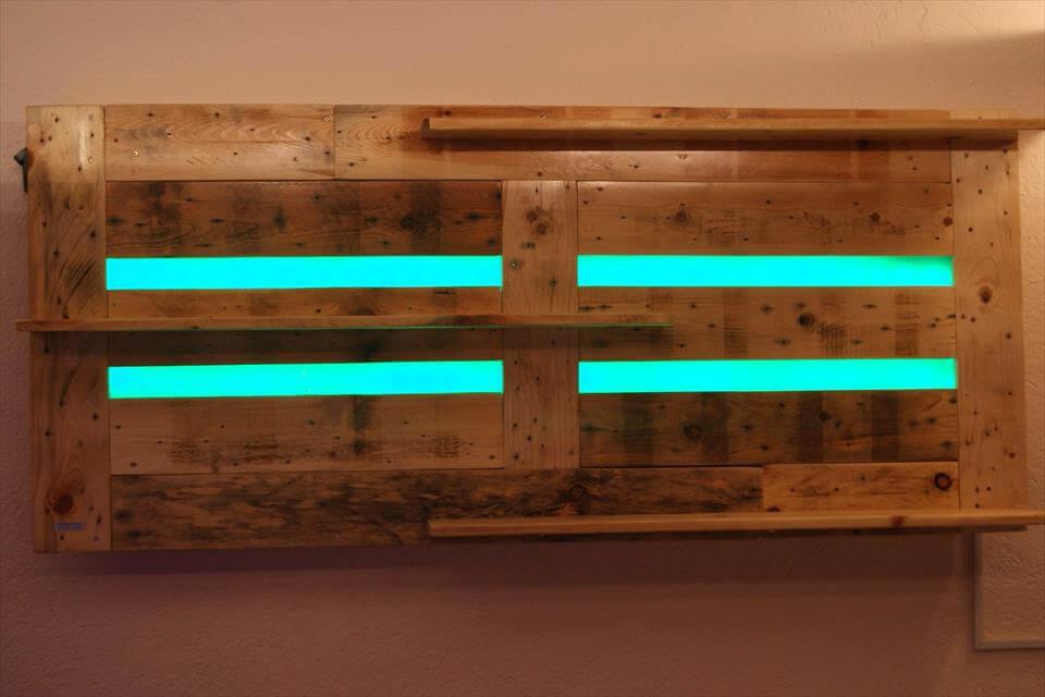 Diy Led Lighted Shelves