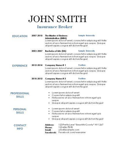 Resume Background Templates