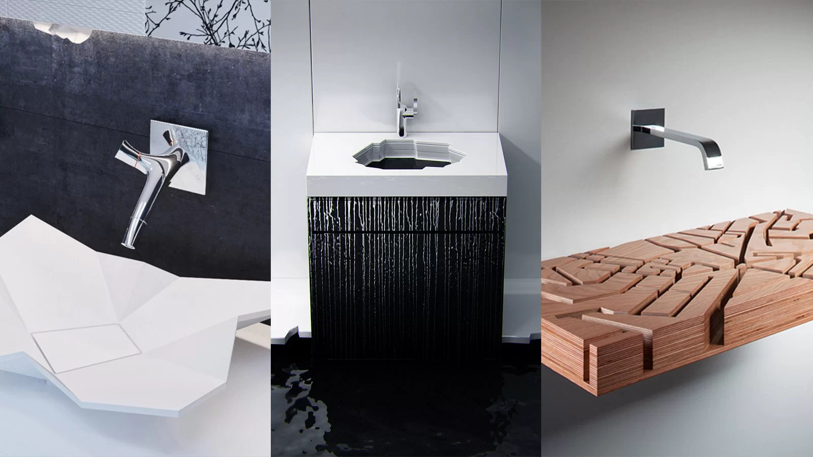10 amazing  modern bathroom sinks for a luxurious home   Bathroom     10 creative bathroom sinks