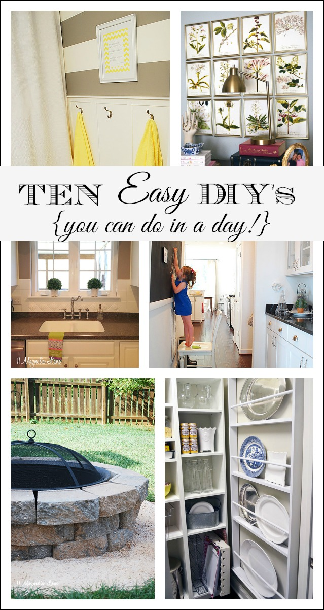 Easy Do It Yourself Home Projects
