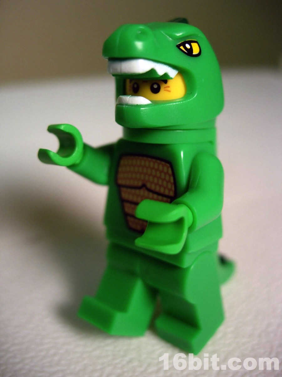 16bit com Figure of the Day Review  LEGO Minifigures Series 5 Lizard Man LEGO Minifigures Series 5 Lizard Man
