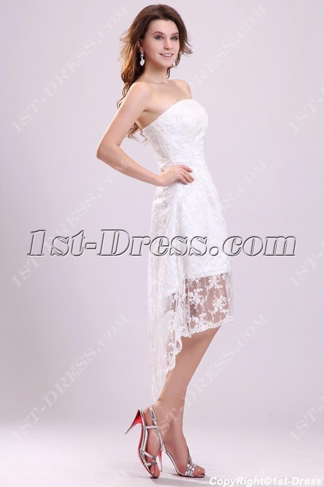 Inexpensive Short Wedding Dresses