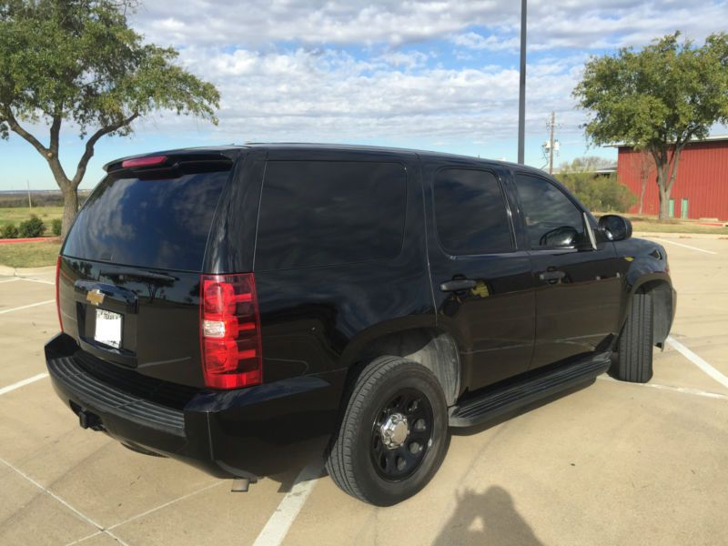 2013 Chevy Tahoe Police Package