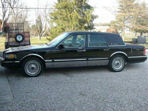 1997 Lincoln Town Car Presidential Edition